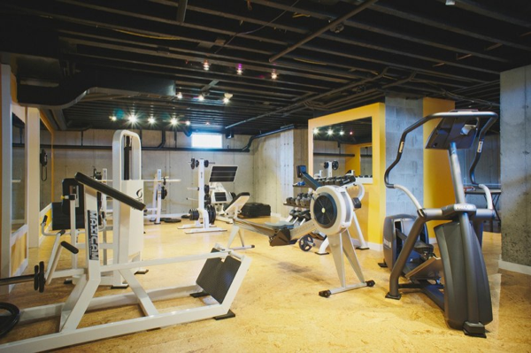 Home gym in the basement improvement kansas city