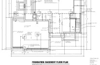 Foundation – Basement Floor Plan