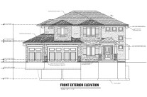Front Exterior Elevation